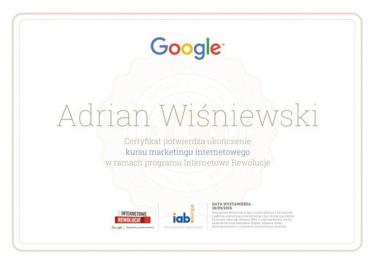 Certyfikat-Internetowych-Rewolucji-Google-Wisniewski-1