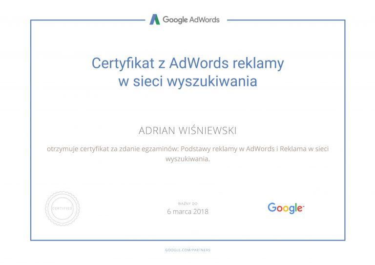 google certyfikat2